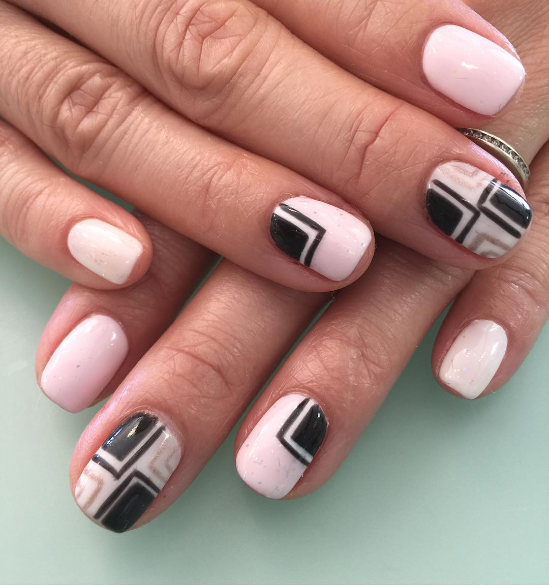 25+ Light Pink Nail Art Designs, Ideas | Design Trends - Premium PSD ...
