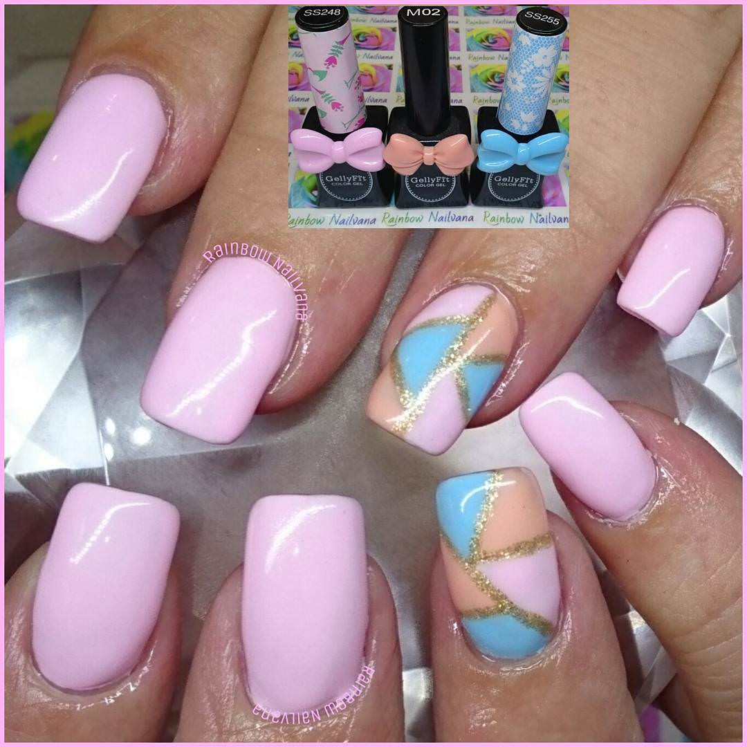 light pink nails - HD 1080×1080