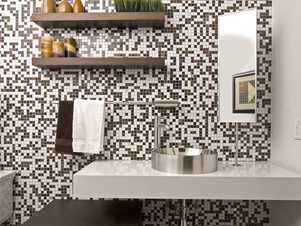 Visually Appealing Bathroom Tiles