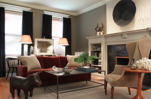 Eclectic-Living-Room-transitional-living-room
