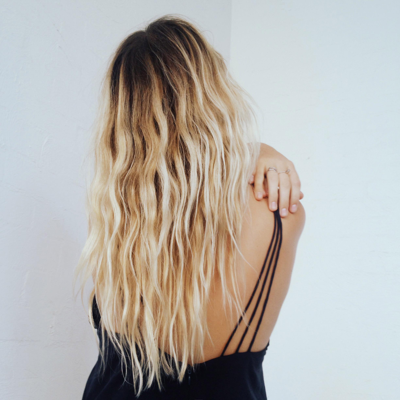 blonde hair sandy