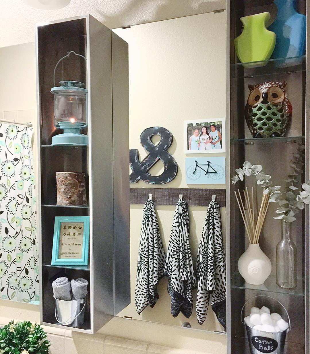 stylish decor bathroom shelves