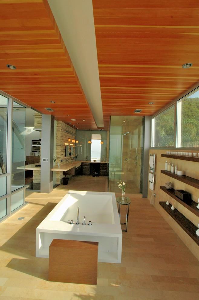 modern bathroom shelves designs