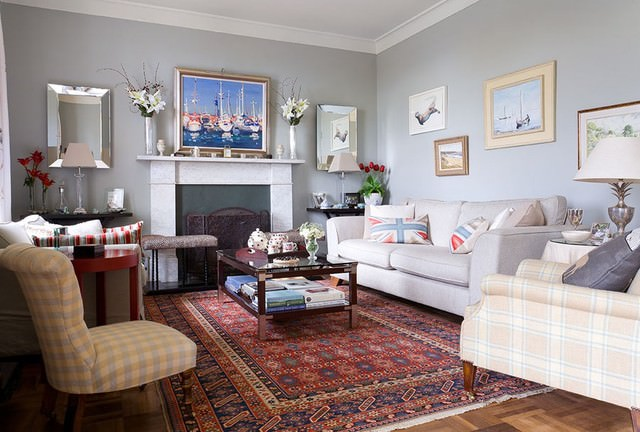 Country-House-in-East-Lothian-eclectic-living-room