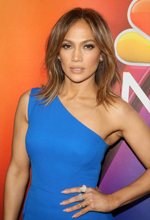 Long bob jennifer lopez
