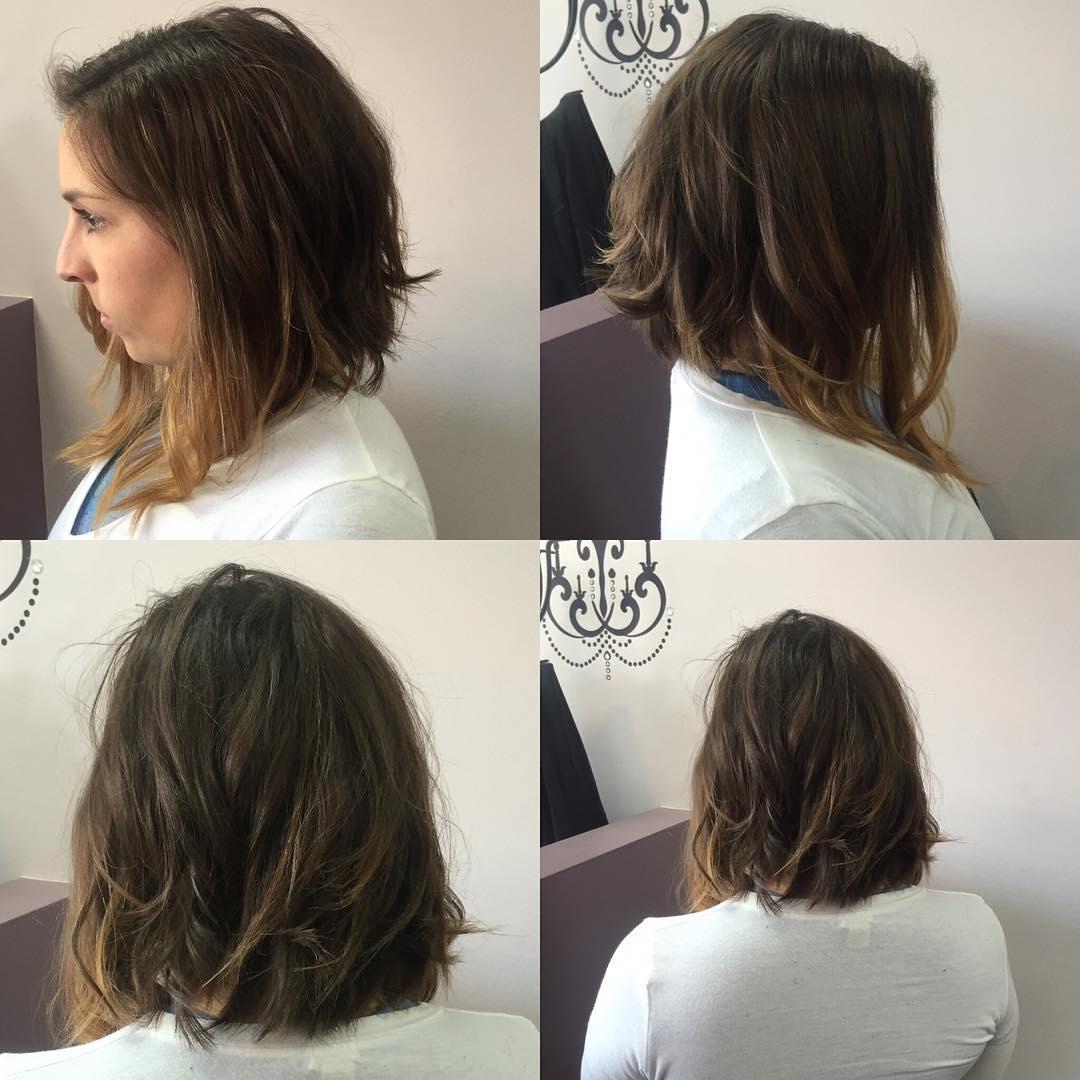 swing bob haircut side view