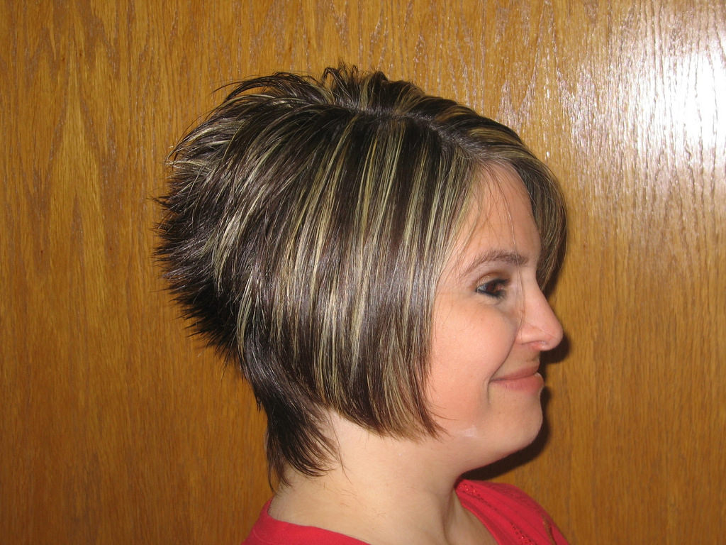 layered bob short haircuts
