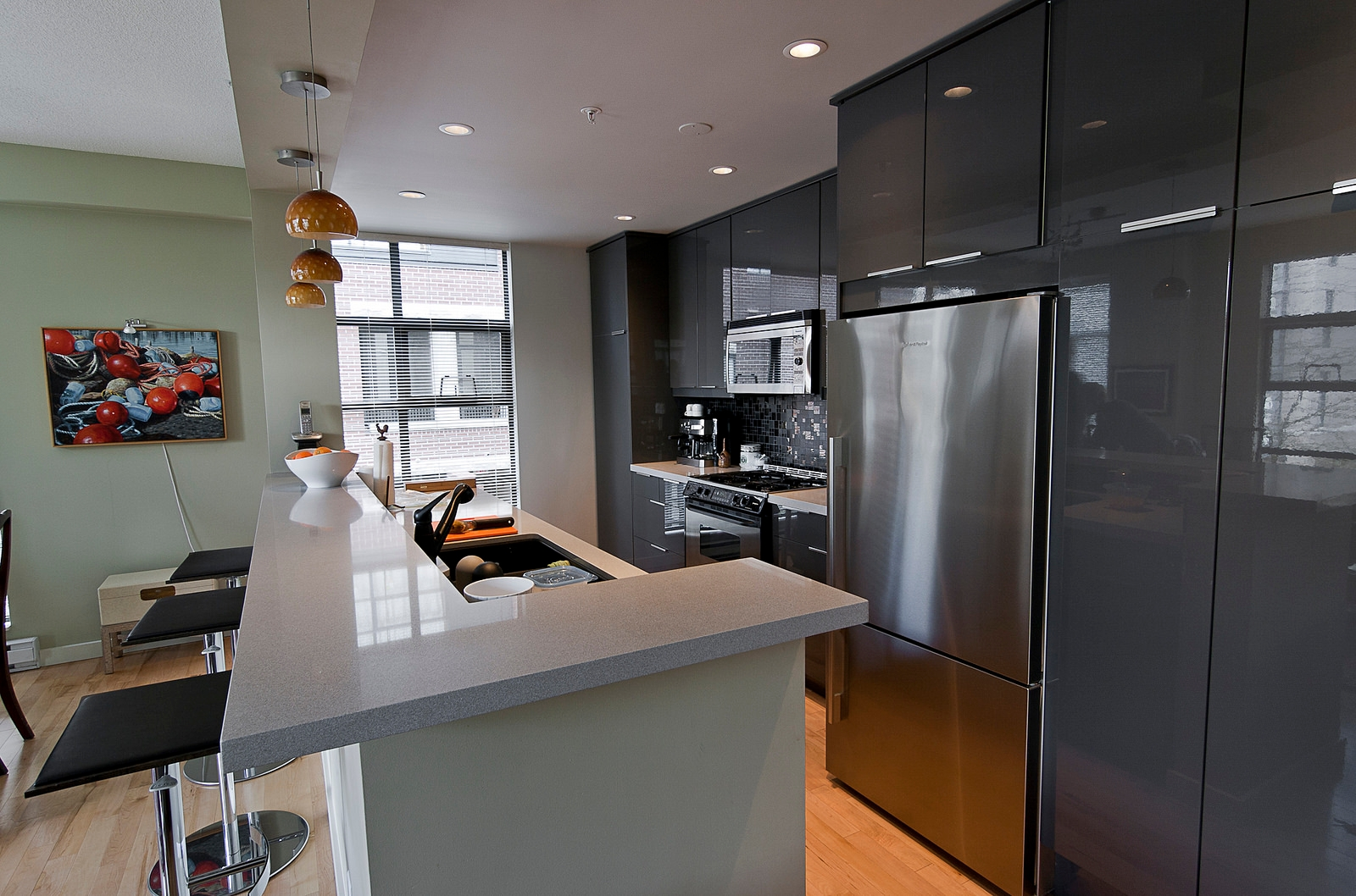 amazing kitchen grey cabinets