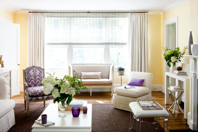 Living Room Curtains Designs