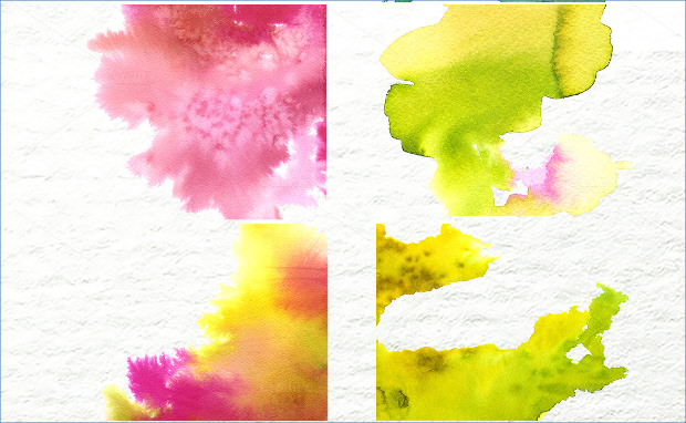 handmade watercolor background