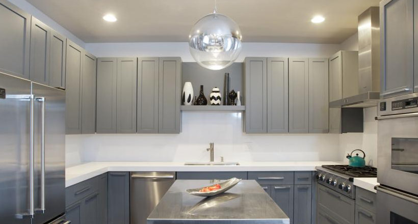 kitchen cabinets with arch design 24 grey kitchen cabinets designs decorating ideas 21398