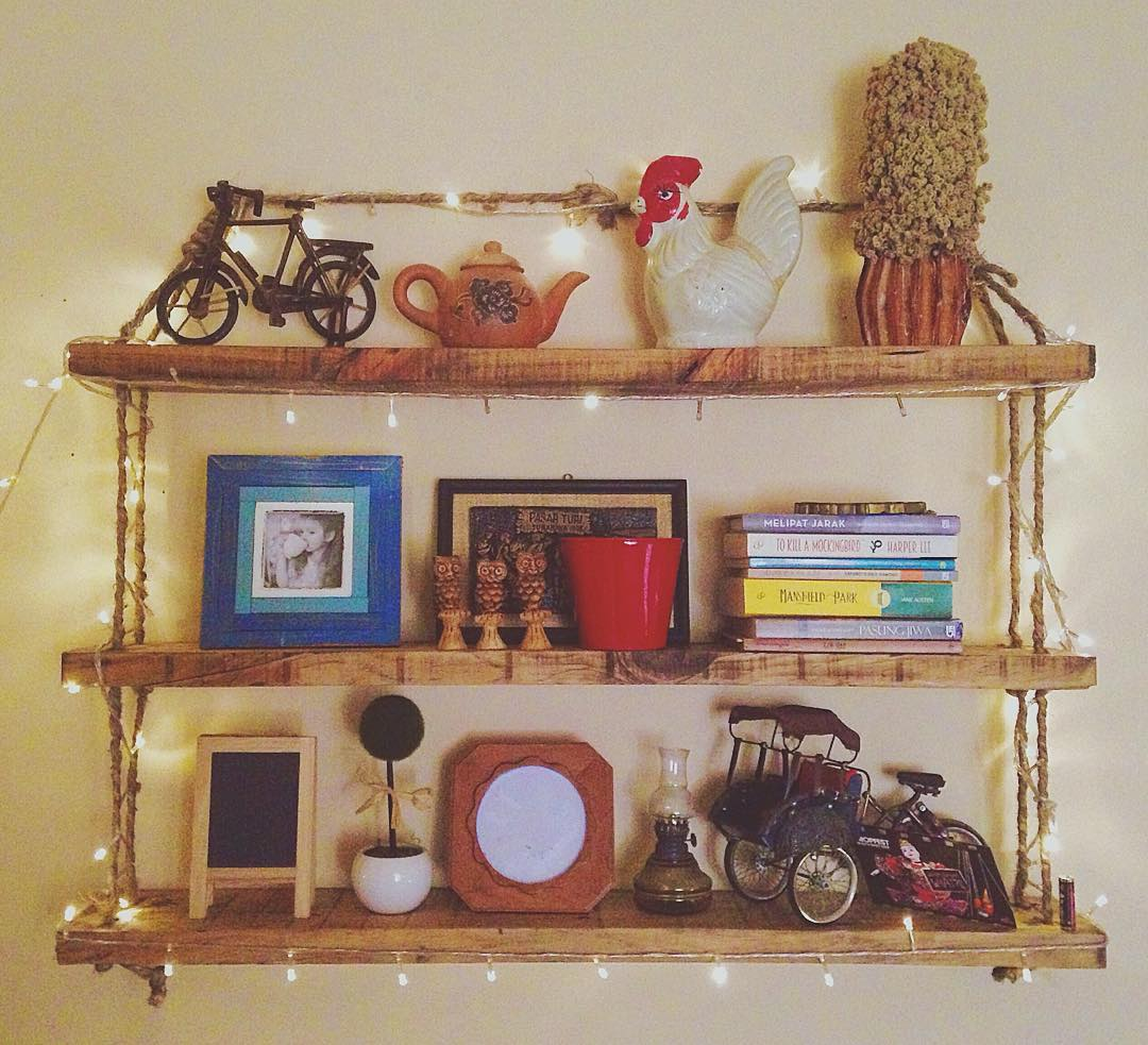 Home Decorative Wall Hanging Shelves