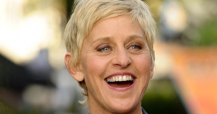 Ellen DeGeneres Short Pixie Haircut