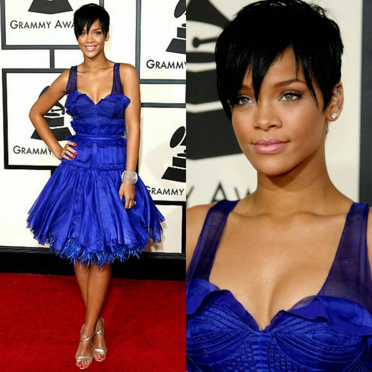 Rihanna Pixie Haircut Idea