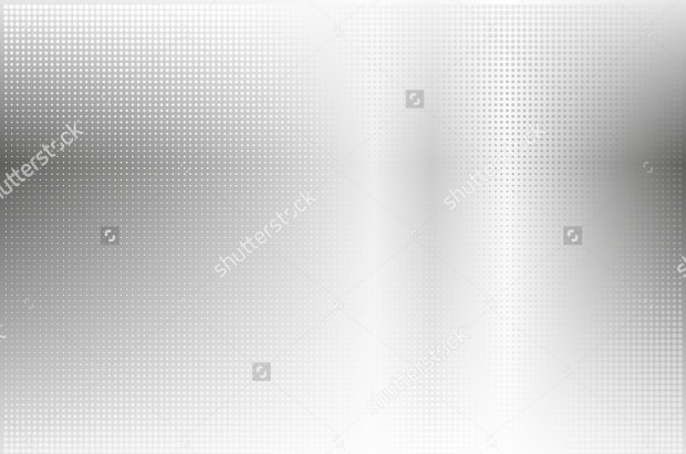 Dotted Metal Silver Background