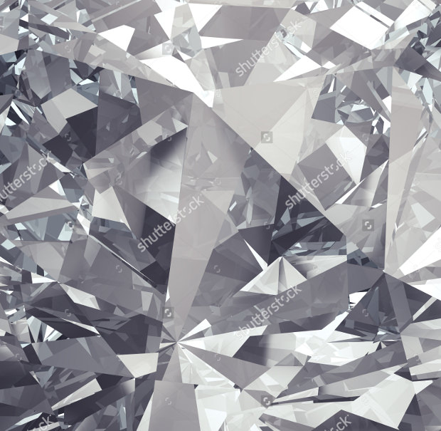 Crystal Silver Background