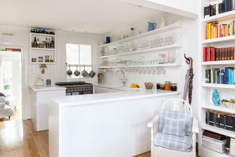 Well Organized Kitchen Shelves