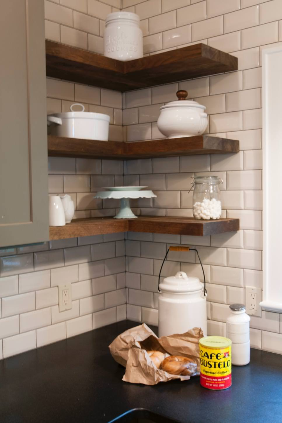 corner wall hanging shelves designs 25 kitchen shelves designs decorating ideas design trends - Wall Hanging Shelves Design