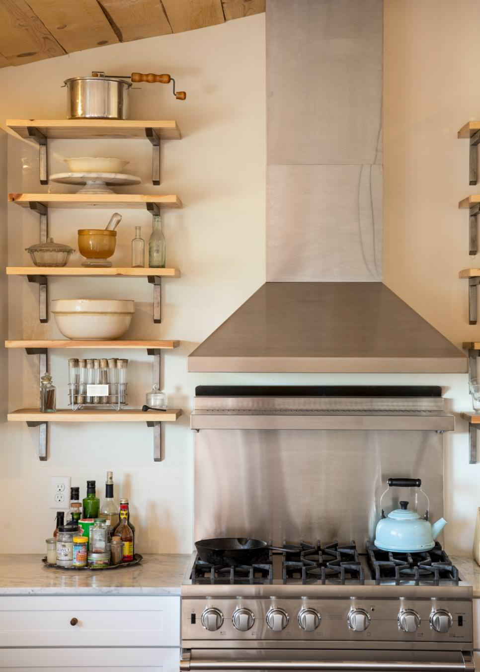 Open Kitchen Shelves Designs