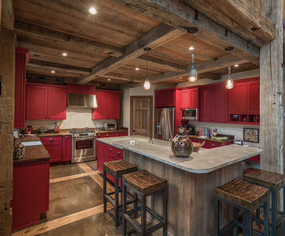 Unusual lighting chandelier unusual free engine image - Red kitchen cabinets ...