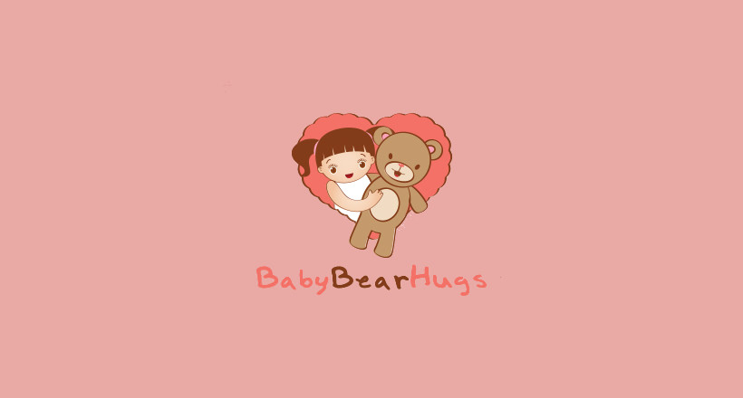 Hugging Teddy Logo