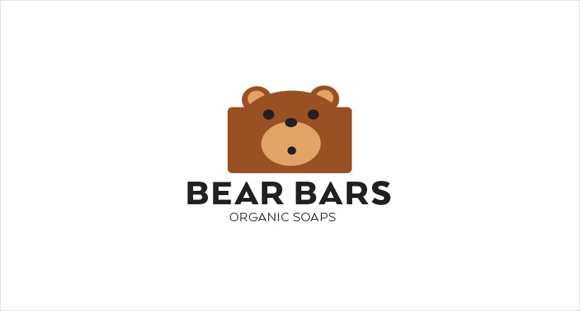 organic bear logo