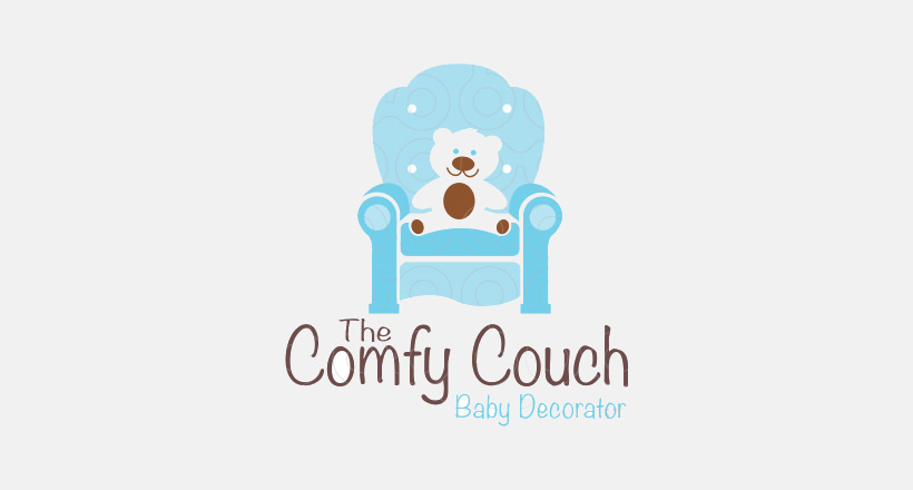 comfy couch bear logo