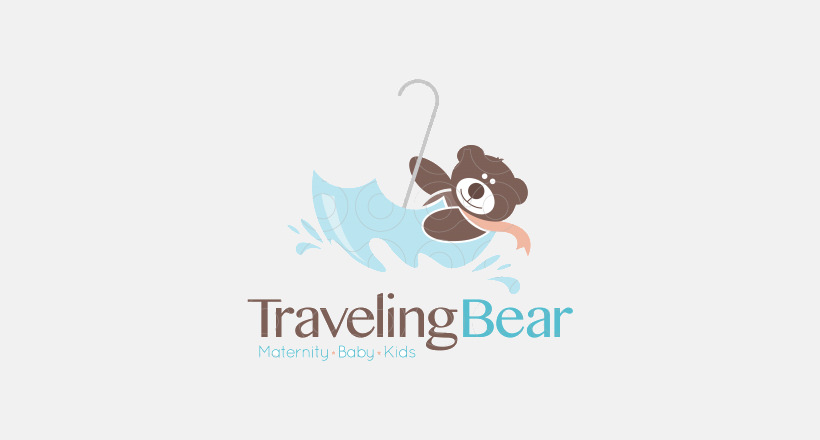Traveling Bear Logo