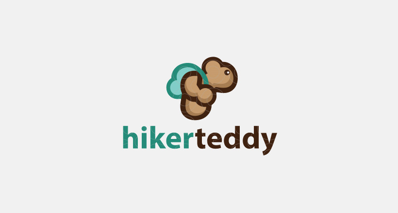 Hiker Teddy Logo