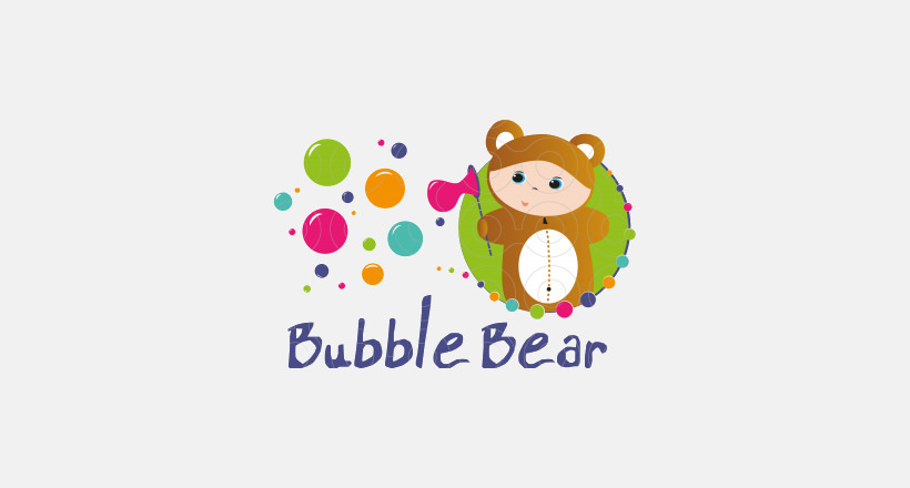 Bubble Bear Logo