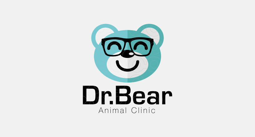 Dr.Bear Animal Logo