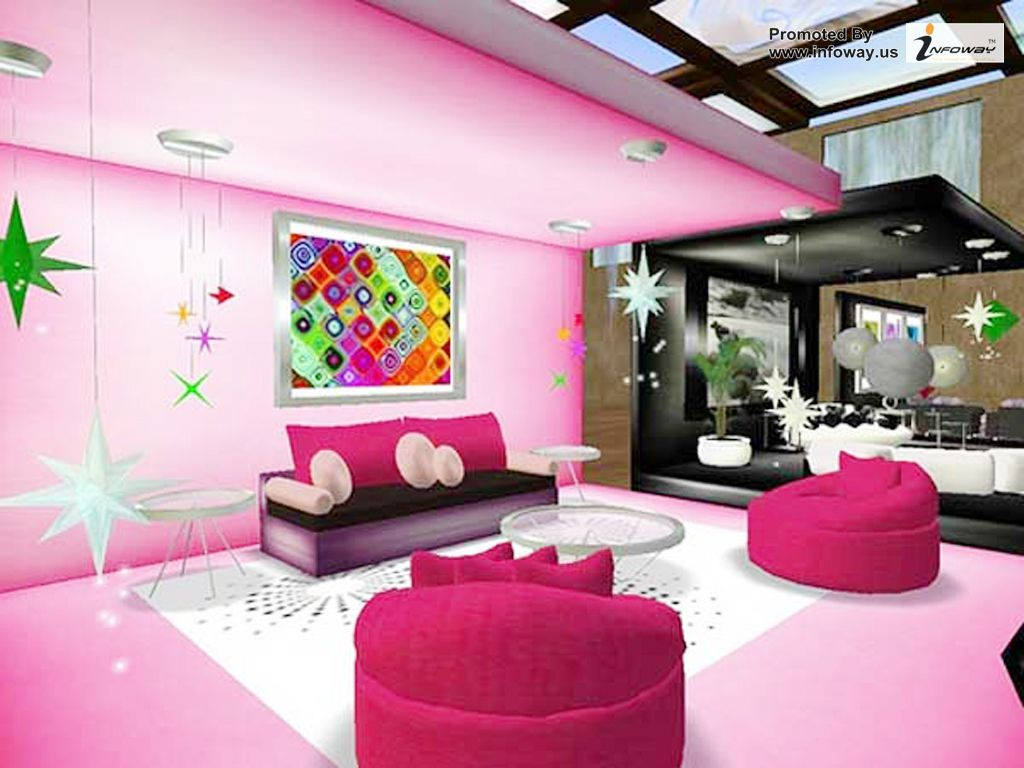 20+ pink living room designs, decorating ideas | design trends