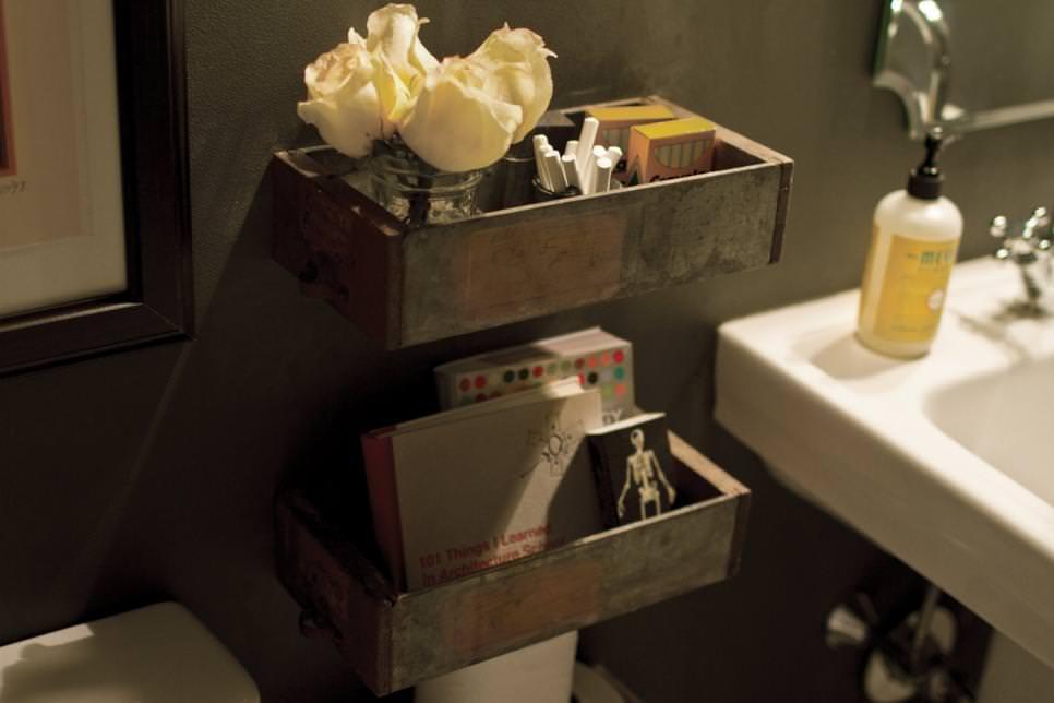 Small Rustic Wooden DIY Shelves