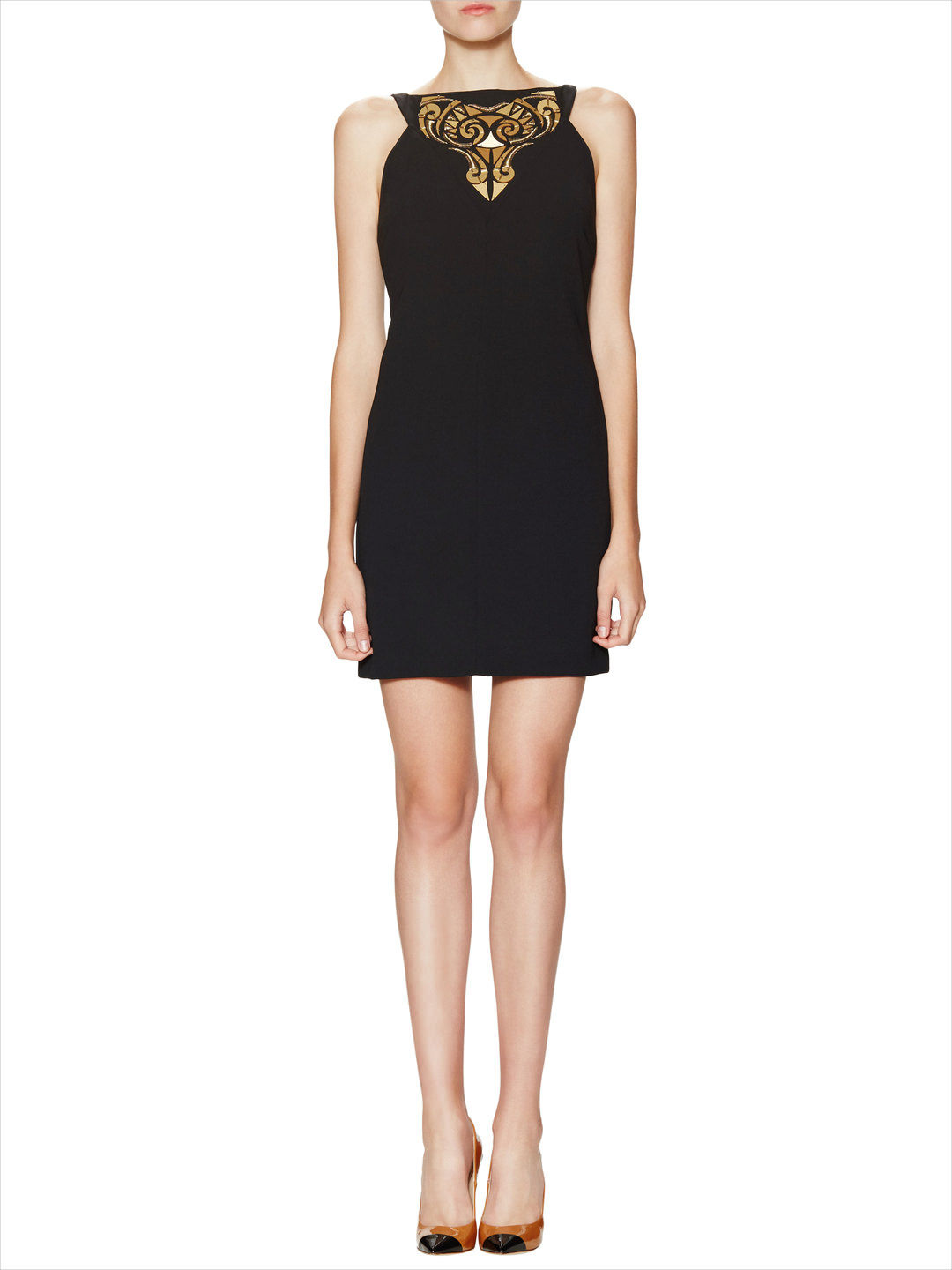 Versace Embellished Mini Dress