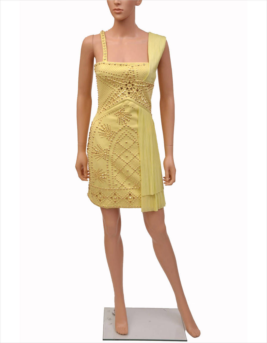 Golden Yellow Dress for Party