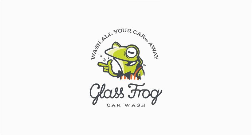 25  frog logo designs  ideas  examples