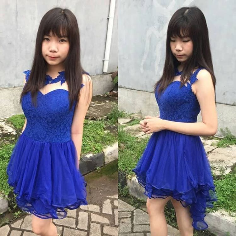 Amazing Dress of Blue Color