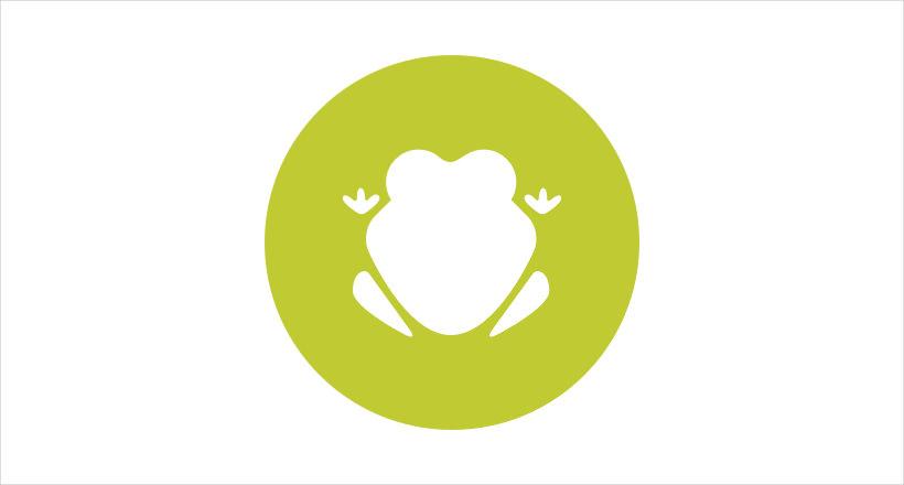 Pretty Frog logo