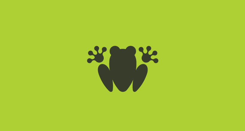 Friendly Frog Logo