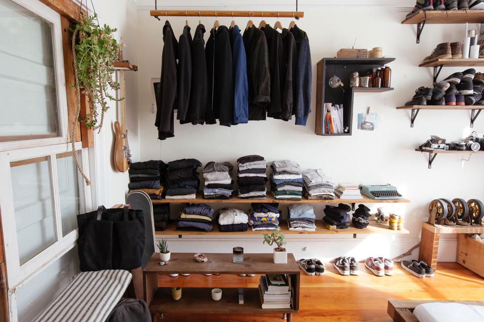 Eclectic Closet DIY Shelves