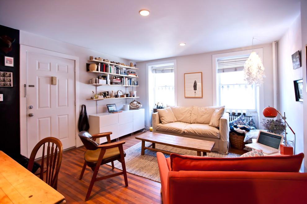 Elegant Living Room DIY Selves
