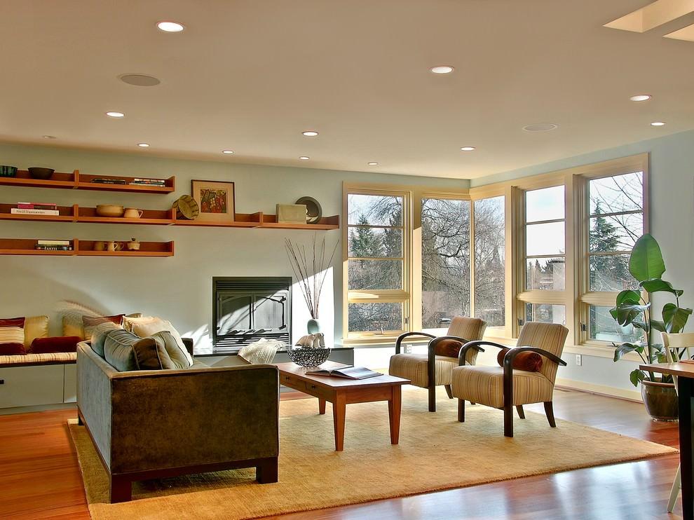 Beautiful Living room DIY Shelves