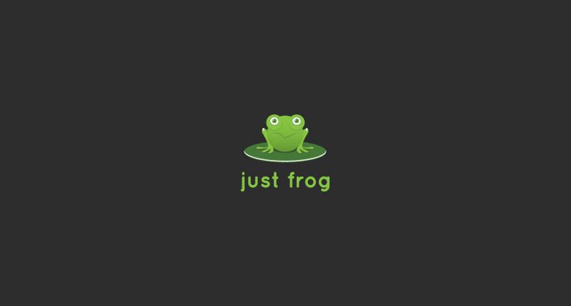 Just Frog Logo