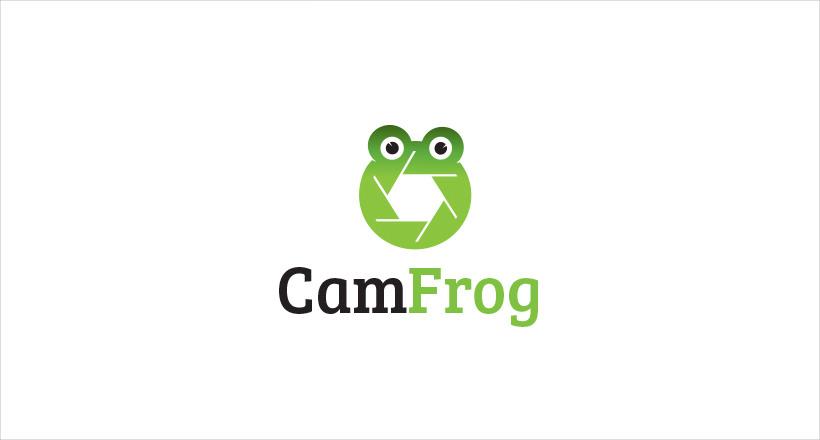 CamFrog Logo Design