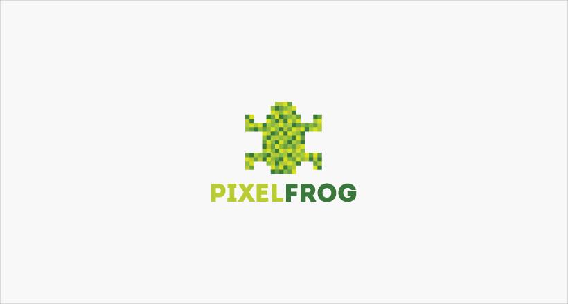 Pixel Frog Logo