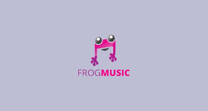 Frog Logo for Music