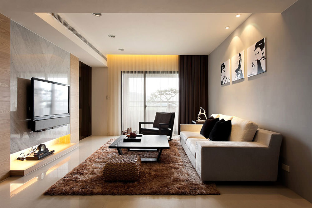 Merveilleux Simple Modern Living Room Design