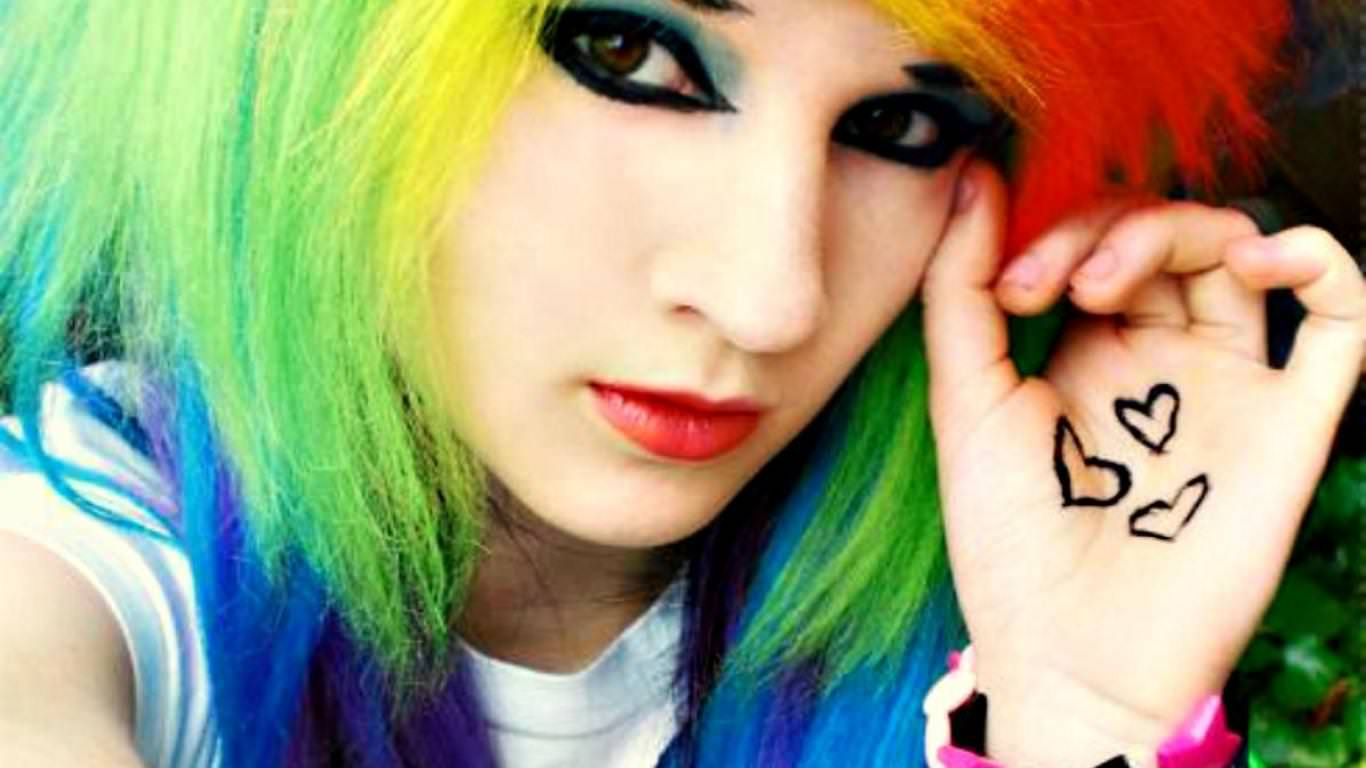 25 Beautiful Emo Hairstyles For Girls Design Trends