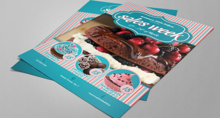 Home Design Ideas Pictures: 25+ Cupcake Flyer Design, PSD Download