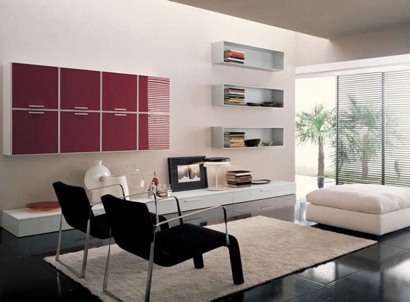 Creative And Modern Living Room Design